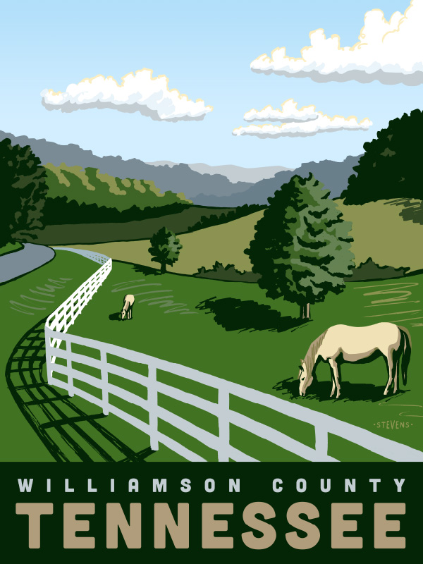 Williamson County Tennessee by Daryl Stevens